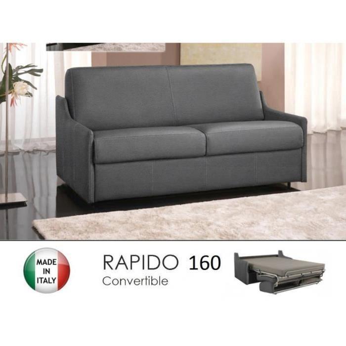 Canapé lit 4 places LUNA convertible RAPIDO 160 Achat / Vente