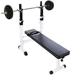 + set haltère long 20 kg pliable: Sports et Loisirs