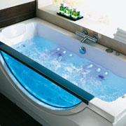 baignoire balneo aquarium 180 x 85 cm baignoire balneo aquarium le