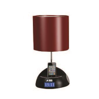 Lampe de chevet Radio Réveil FM Rouge Achat & prix | fnac