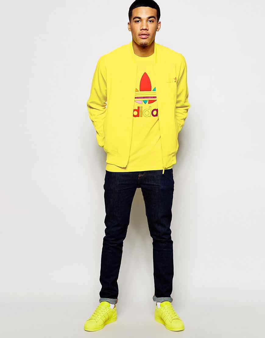 ? Adidas Originals X Pharrell Williams Supercolour Jaune