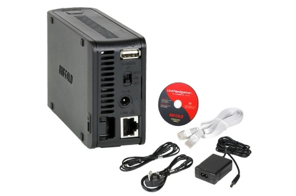 Disque dur externe Buffalo LinkStation Mini 500 Go USB 2.0 / ETHERNET