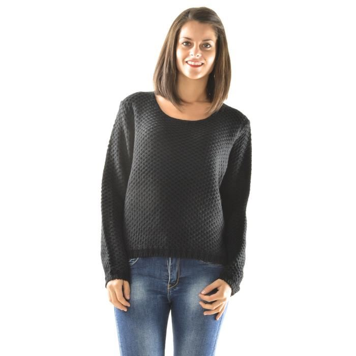 Pull ample à grosse maille Achat / Vente pull 3662865640455