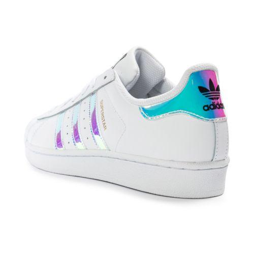 Adidas originals Superstar Irisée Tennis Blanc pas cher Achat