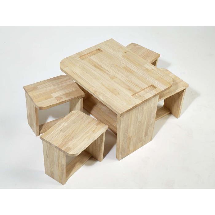 table enfant en bois massif Achat / Vente table et chaise