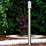 Lampadaire «Tunes» avec détecteur de mouvement et prise électrique