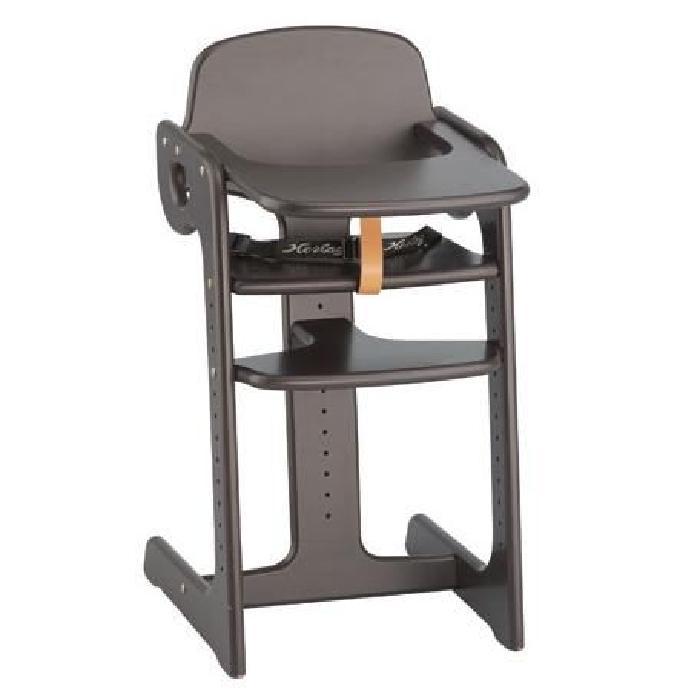 Chaise haute évolutive couleur wengé Achat / Vente chaise haute
