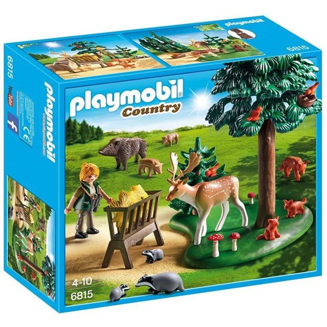 PLAYMOBIL PLAYMOBIL 6815 Country Garde forestière avec animaux