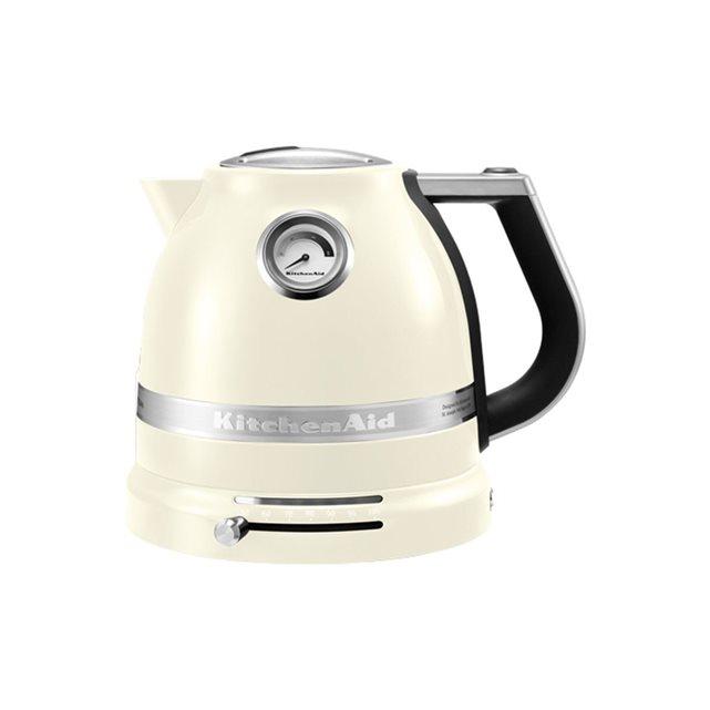 Bouilloire électrique artisan 5kek1522eac blanc crème Kitchenaid