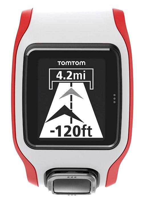 Montre GPS TomTom Multi Sport Cardio Noir/Rouge (1RH0.001.01)