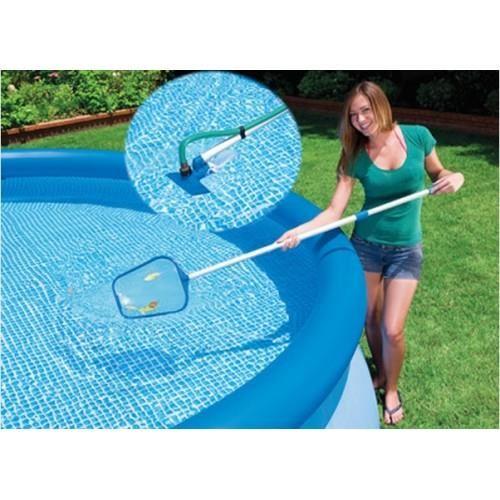 PISCINE EPUISETTE ASPIRATEUR INTEX Pour entretenir votre piscine