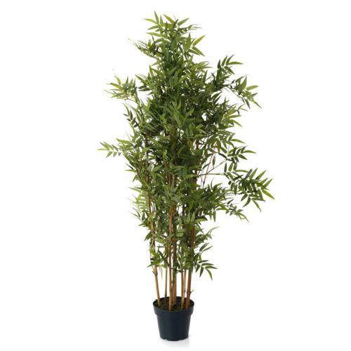 Alinéa Bambou Plante artificielle hauteur 120cm Vert x120.0 pas