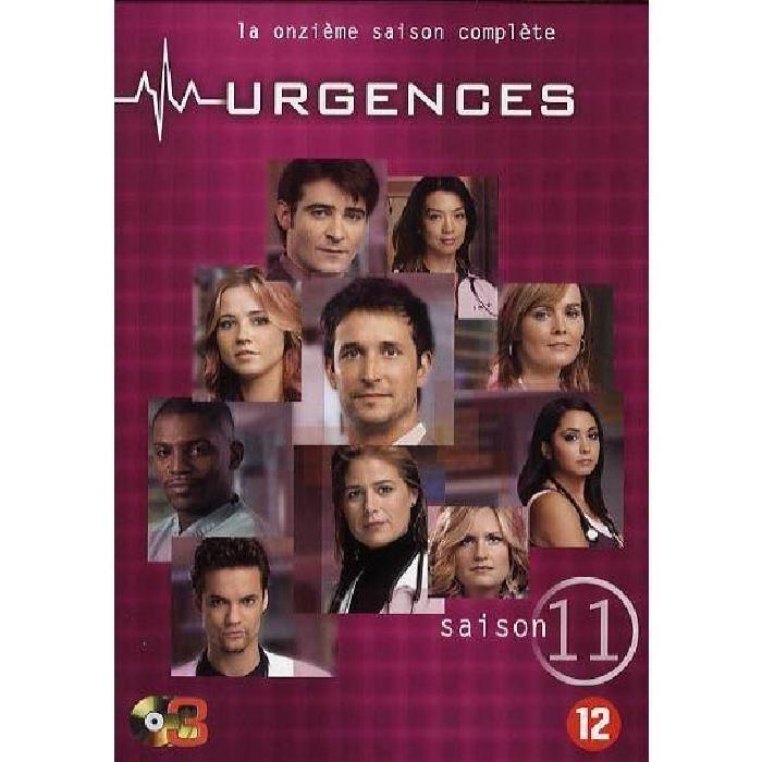 URGENCES Saison 11, Coffret 3 DVD en dvd série pas cher