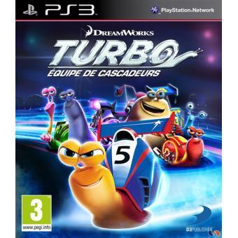 Turbo Equipe de Cascadeurs PS3 sur PlayStation 3 Jeux vidéo Achat