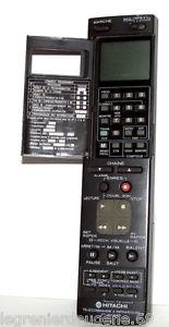 Télécommande d'Origine/Orig inal Remote HITACHI VT