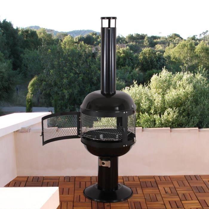 barbecue fixe topiwall. Black Bedroom Furniture Sets. Home Design Ideas