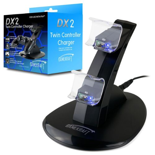 Gamekraft Dx2 Chargeur Pour 2 Manettes Playstation 4 Ps4 PS4