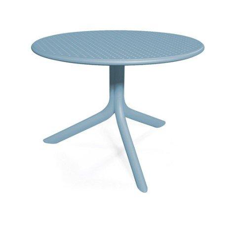 Table Bora ronde bleu 2 personnes |