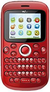 Wiko Minz Téléphone Portable Bibande GSM/GPRS Bluetooth Rouge