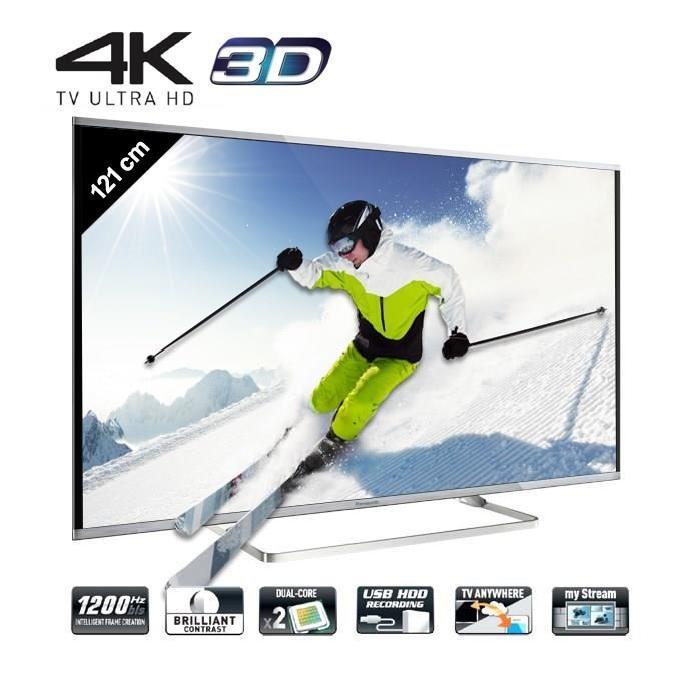 PANASONIC TX 48AX630E Smart TV UHD 4K 3D 121cm téléviseur led