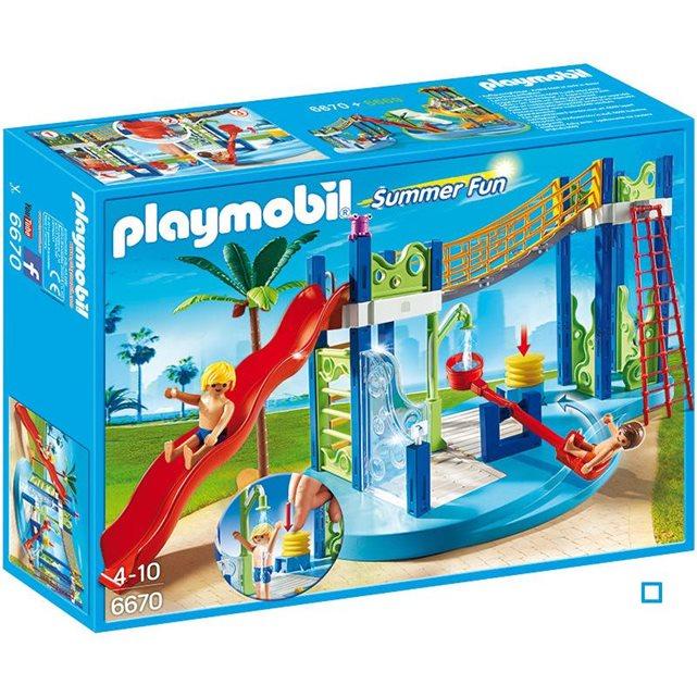 Aire de jeux aquatique pla6670 couleur unique Playmobil