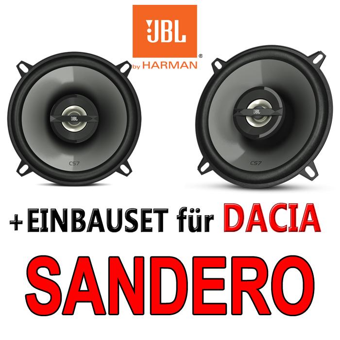 Dacia Sandero 1 JBL LAUTSPRECHER BOXEN Tür vorne hinten 130mm 13cm