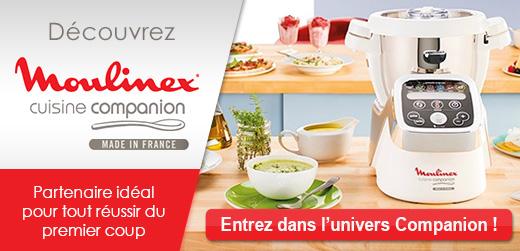 Tout le choix en Robot cuiseur de marque Moulinex