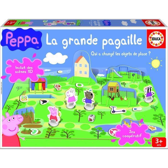 PEPPA PIG Jeux de Société La Grande Pagaille Achat / Vente jeu