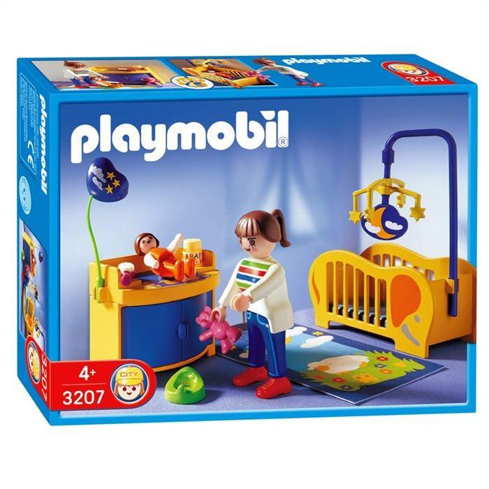 Playmobil Maman Chambre de Bébé Achat / Vente univers miniature