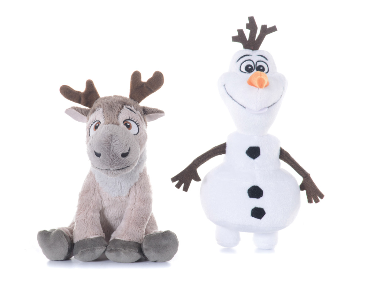 Frozen 8″ Plush Olaf & Sven Your favourite companions Olaf & Sven