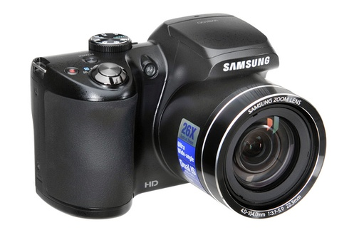 Appareil photo bridge Samsung WB 100 NOIR (3623440)