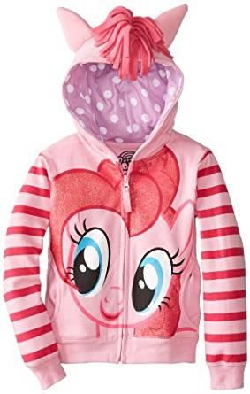 My Little Pony Figurine Pinkie Pie Sweat à capuche pour fille Rose