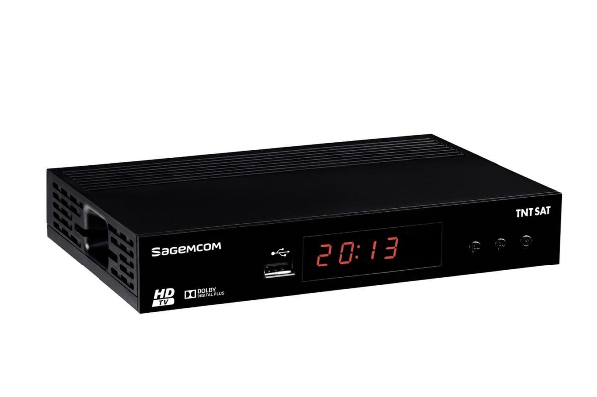 Récepteur TNT par satellite Sagemcom DS81 HD TNTSAT (4071166) |