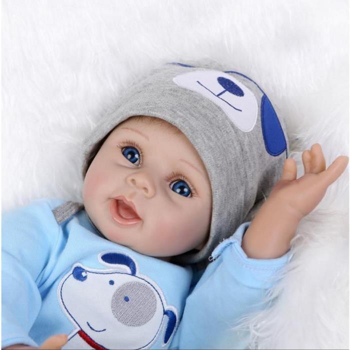 22 «55 cm Silicone Reborn Baby Dolls Meilleur cadeau Achat / Vente
