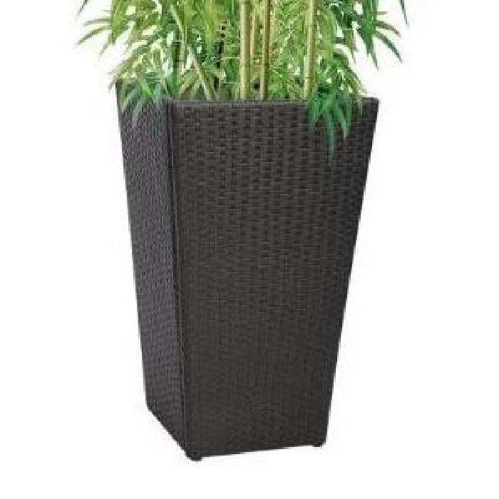 Cache pot noir extérieur H 83 cm Achat / Vente jardinière pot