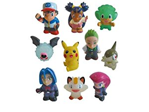 Set de 10 Figurines Pokemon 85095 BANDAI: Jeux et Jouets