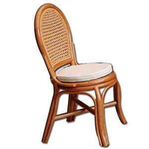 chaise en rotin avec coussin: Jardin
