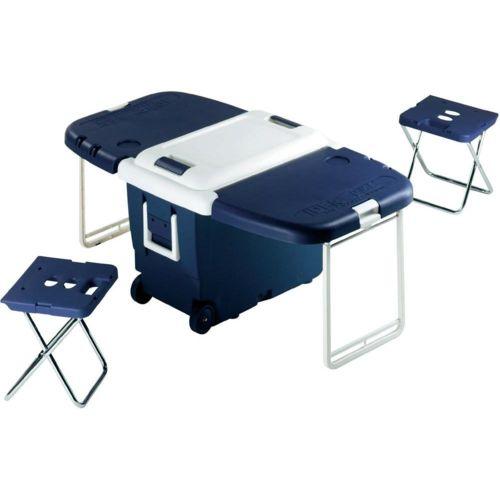 Lekingstore Glacière Pique Nique 30L Table + Chaises Pliantes pas