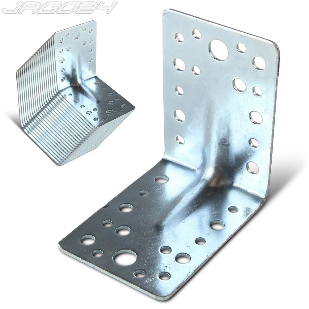 Équerre fixation support acier galvanisé pour un montage durable