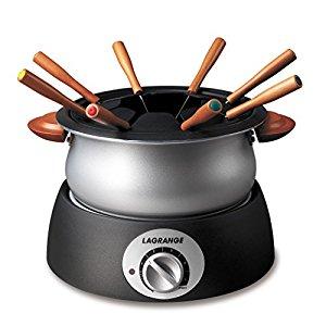Appareil à fondue Classic Poignées bois: Cuisine & Maison