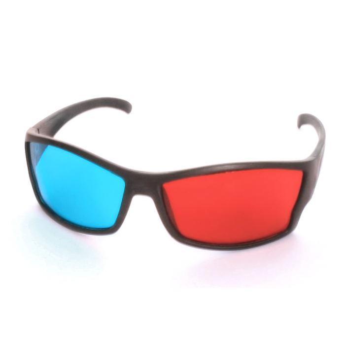 Lunette 3D anaglyphe Rouge/Cyan «PRO» Panosphere lunettes 3d, prix