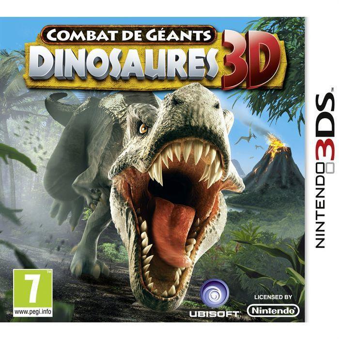 COMBATS DE GEANTS: DINOSAURES 3D / Jeu console 3DS Achat / Vente jeu