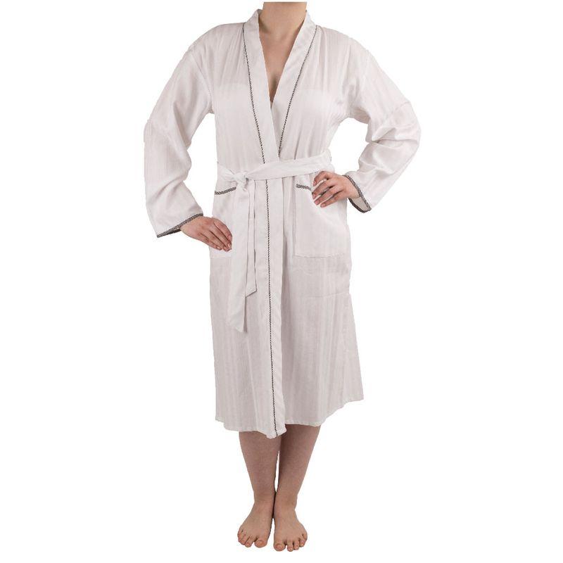 Spa robe de chambre à manches longues en coton Mio Lounge   La