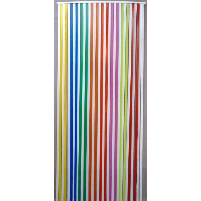 Rideau thermique topiwall - Rideau de porte exterieur plastique ...