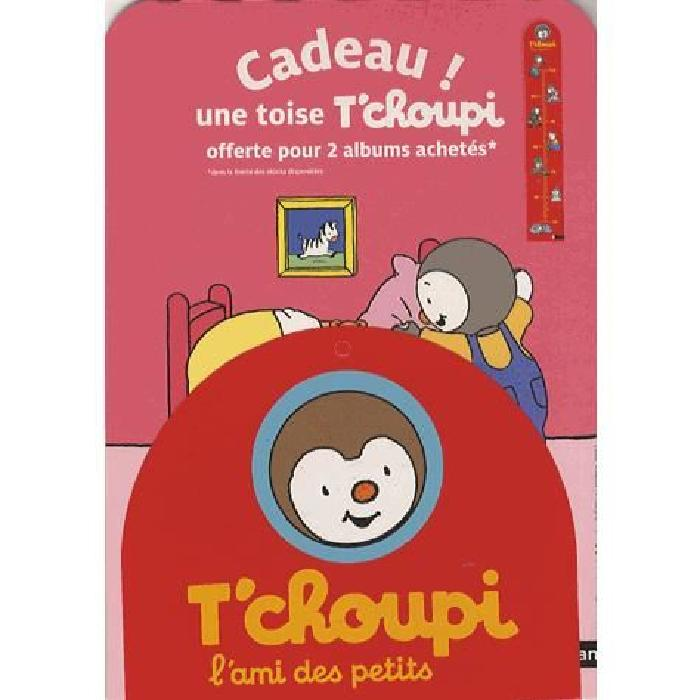 Avec une toise Thierry Courtin T'choupi