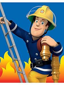 Plaid Sam le pompier Couverture polaire 120×150 cm