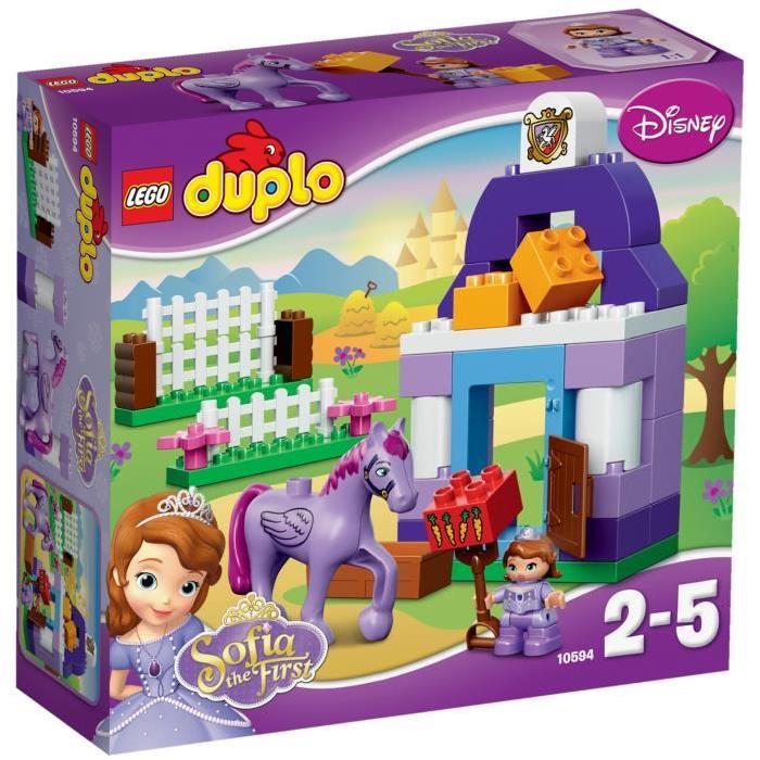 LEGO® DUPLO 10594 Ecurie royale de Princesse Sofia Achat / Vente