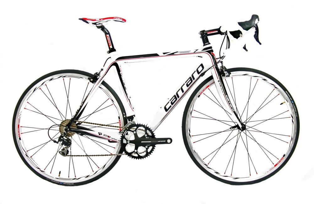Vélo de course Carraro Valles 941 SL Racer Carbon 58cm 20 G Shimano