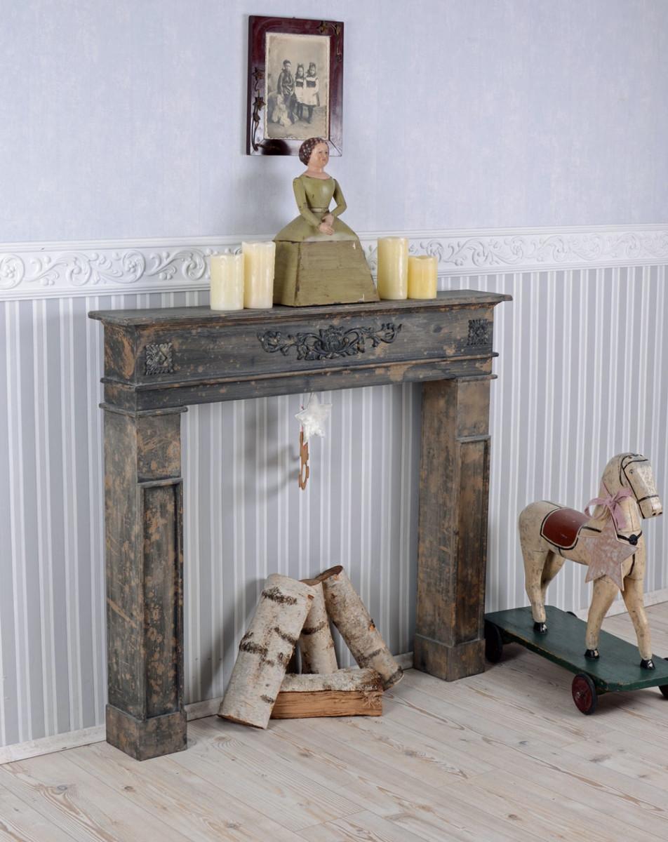 Manteau de cheminee bois topiwall - Manteau cheminee bois ...