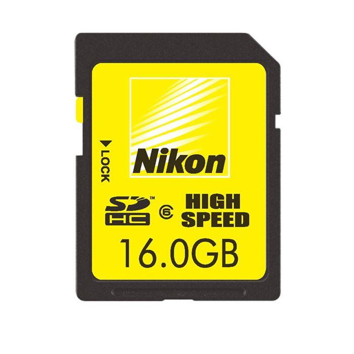 Carte memoire Nikon SD 16Go Achat / Vente carte mémoire Soldes* d